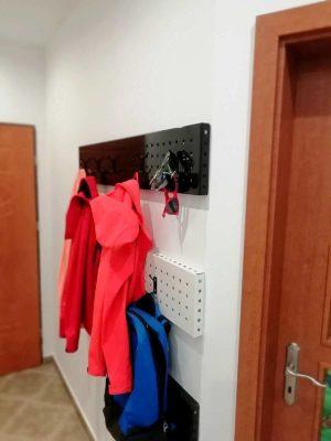 wieszak apartamentu fabryka endorfin w kłodzku/hall in apartment Fabryka Endorfin Klodzko